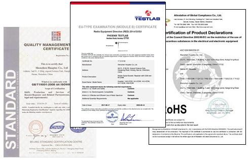 License Exempt Certificates