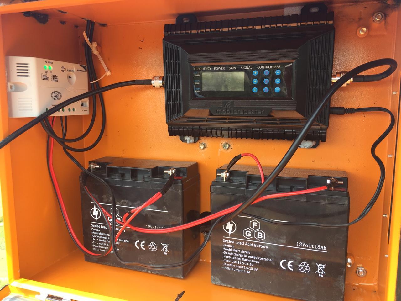 Outdoor Signal Booster Installs 6